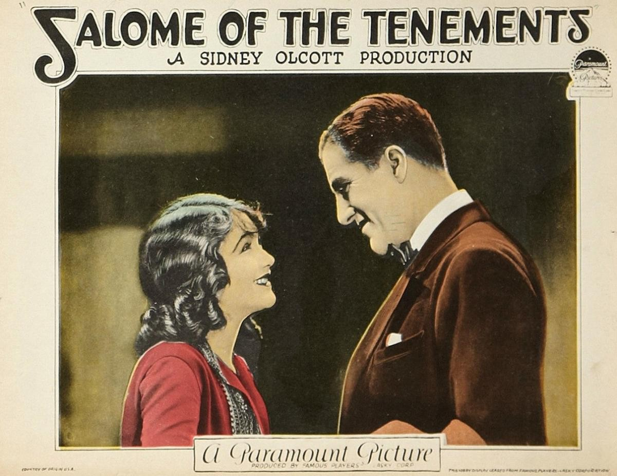 Film poster for Salome of the Tenements
